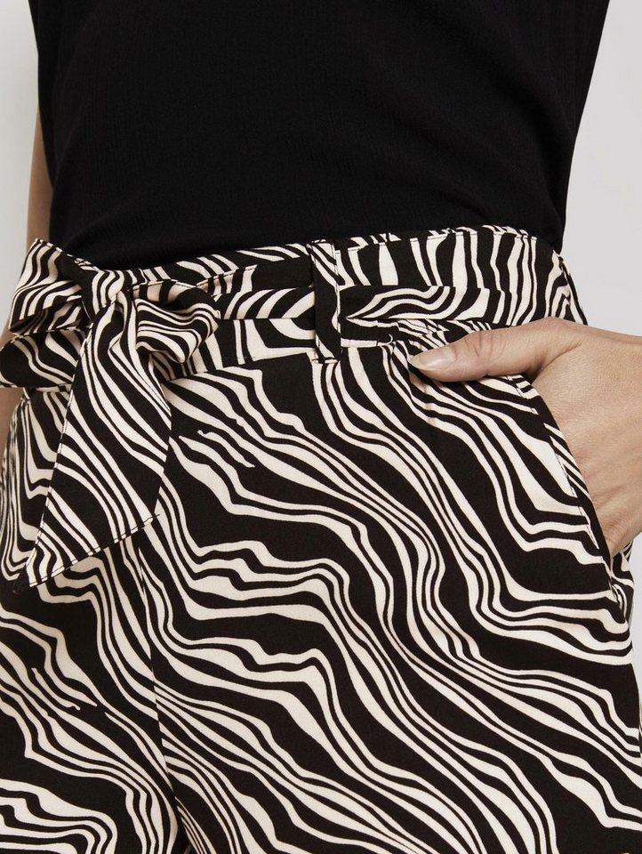 tom tailor -  Culotte »Fließende Culotte mit Bindegürtel«