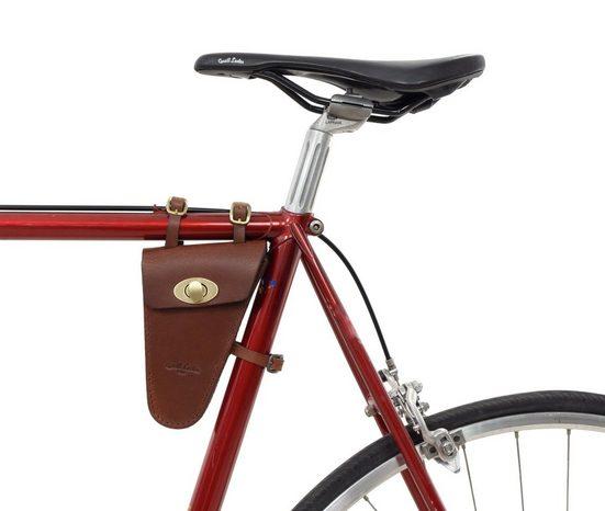 Gusti Leder Rahmentasche »Stephen R.«, Fahrradtasche für Werkzeug Ledertasche Vintage Fahrrad