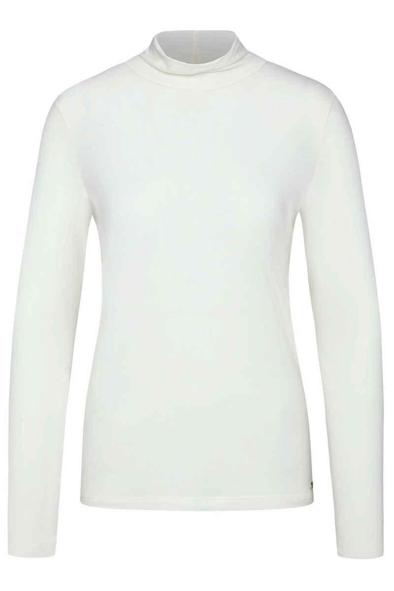 bugatti Langarmshirt aus elastischer Modalware