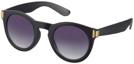 Sonnenbrille mit Metalleinsatz