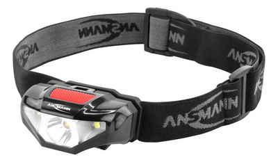 ANSMANN® LED Stirnlampe »LED Stirnlampe - sehr Leicht und Kompakt 3W LED ideal zum Joggen«