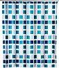 WENKO Duschvorhang »Mosaik« Breite 180 cm, Höhe 200 cm, inklusive Vorhangsringe, Bild 1