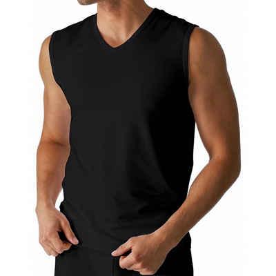 Mey Unterhemd »Dry Cotton Muskel Shirt - Unterhemd« (1 штука), Körpernahe Passform, Breite Träger mit V-Ausschnitt, Mit Klimaanlage