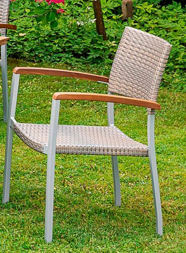 MERXX Gartensessel »Silano« Aluminium/Kunststoff