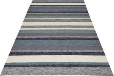 Teppich »Rosetta-Stripes«, Gino Falcone, rechteckig, Höhe 20 mm, In- und Outdoor geeignet, Wohnzimmer