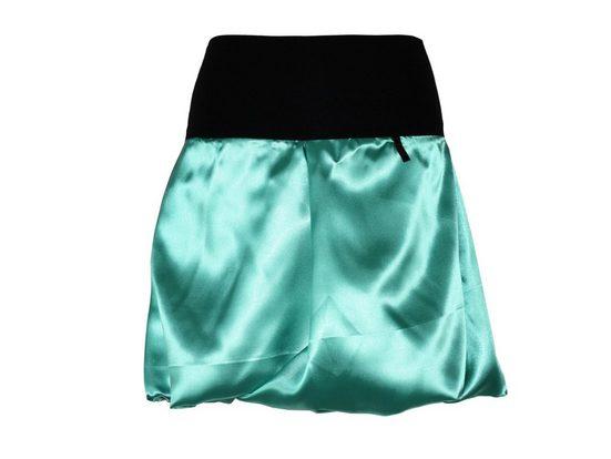 dunkle design Ballonrock »Satin 51cm oder Mini 45cm Farbwahl« elastischer Bund
