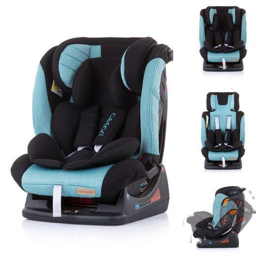 Chipolino Autokindersitz »Kindersitz Paseo Gruppe 0+/1/2/3«, 6.3 kg, (0 - 36 kg) Rückenlehne verstellbar