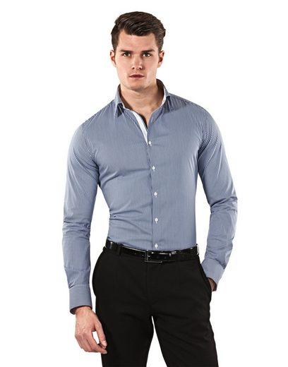 Vincenzo Boretti Business-Hemd mit bügelleichter Eigenschaft
