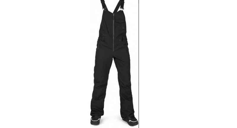 Volcom Snowboardhose »Volcom Damen Overall Swift Bib Schneehose schwarz«