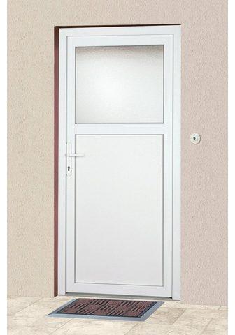 KM Zaun Haustür »K601P« BxH: 98 x 193 cm weiß ...