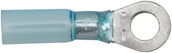 RAMSES Ringkabelschuh, Set, blau 1,5 - 2,5 mm², für M4 Polyolefin, 50 Stück