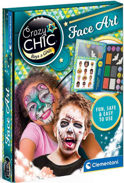 Clementoni® Kreativset »Crazy Chic - Face-Painting«