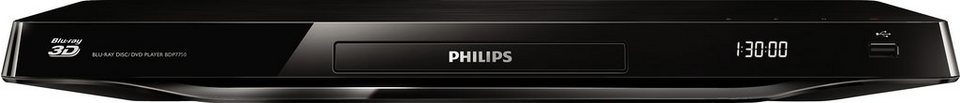 Philips BDP7750 3D Blu-ray-Player in schwarz