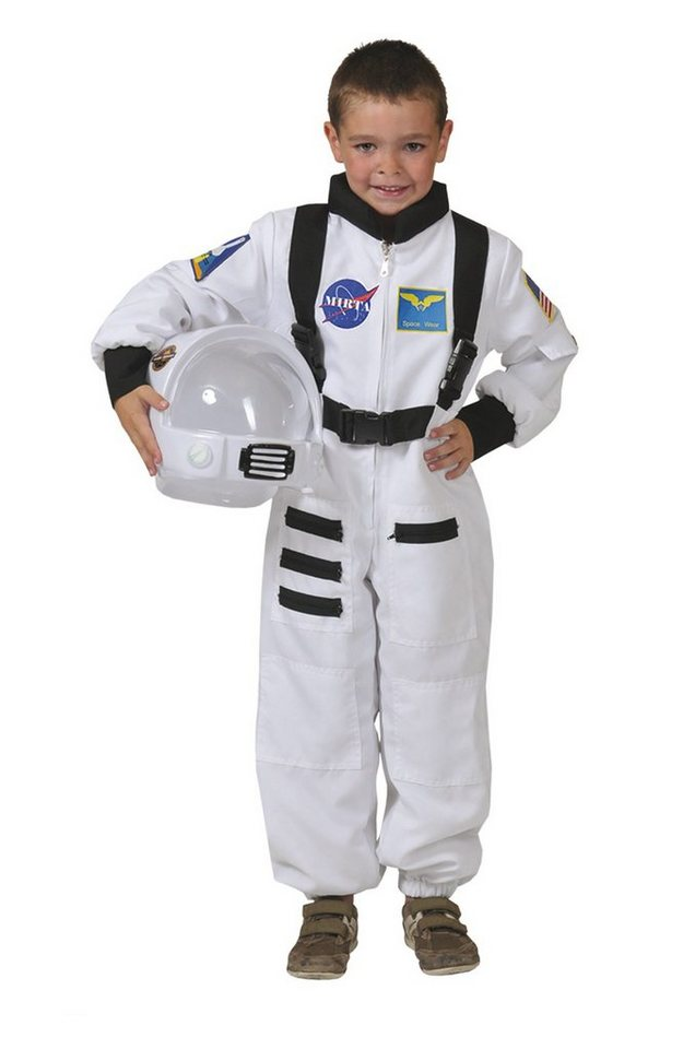 funny fashion kost m astronaut overall weiss otto. Black Bedroom Furniture Sets. Home Design Ideas