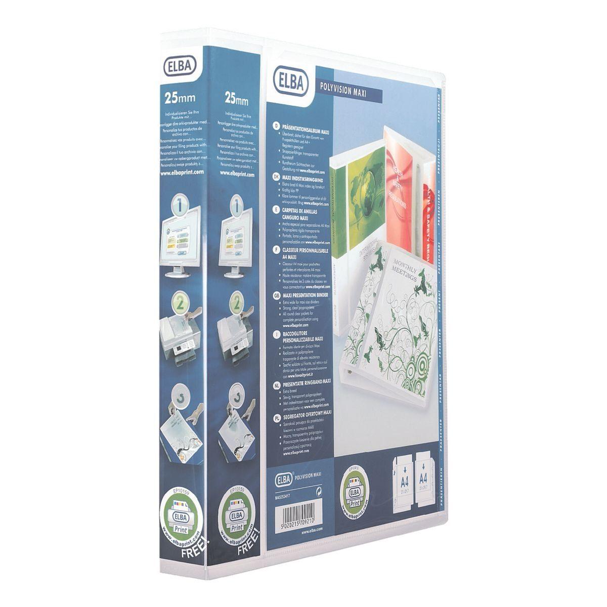 ELBA Ringbuch 100201774 »polyvision«