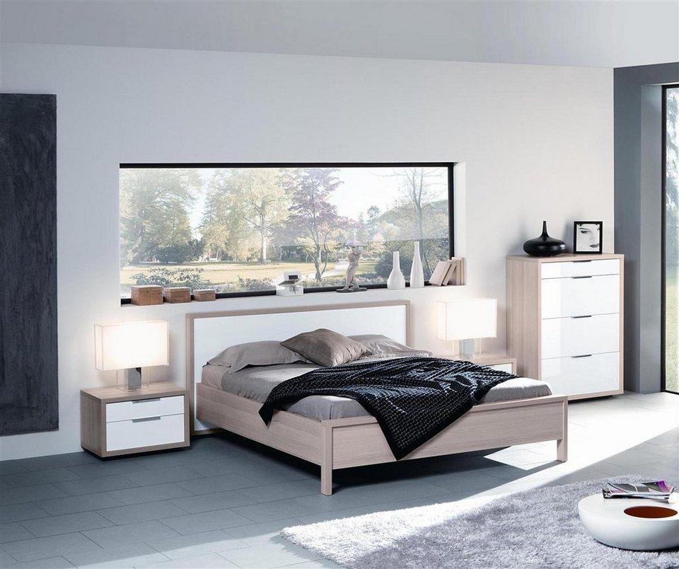 Schlafzimmer set novalis hochglanz
