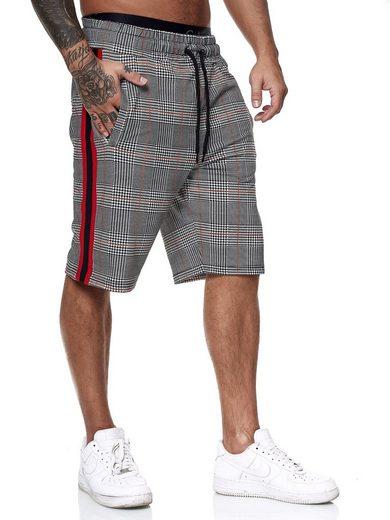 OneRedox Shorts »1469C« (Kurze Hose Bermudas Sweatpants, 1-tlg., im modischem Design) Fitness Freizeit Casual