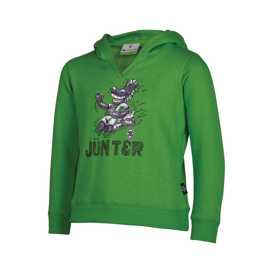 KAPPA BMG Sweatshirt für Kinder »BMG SWEATSHIRT JÜNTER KIDS 13/14« in classic green