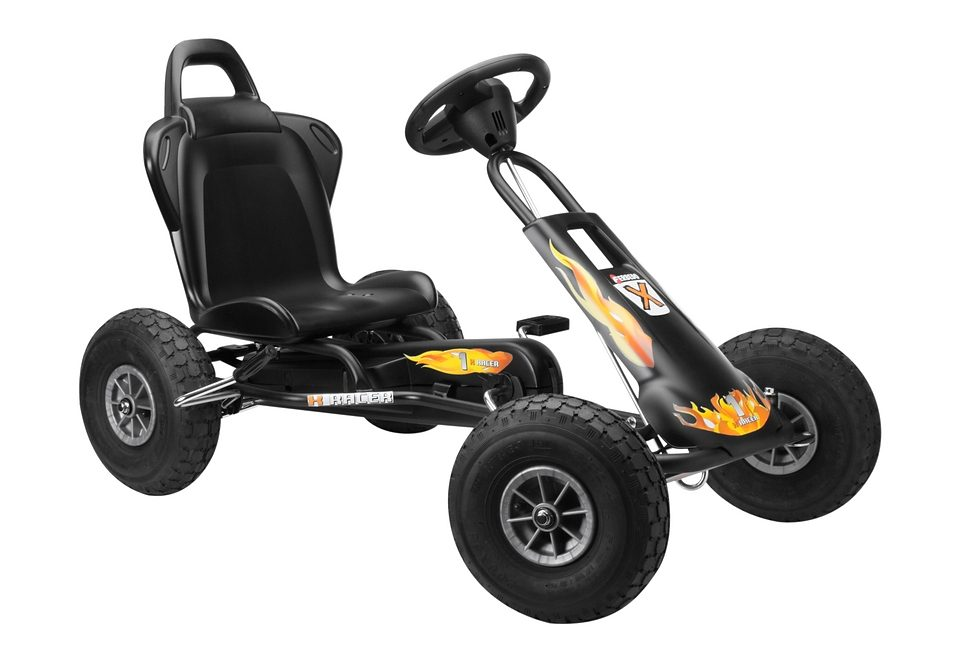 Ferbedo Go-Kart, »Air Runner - schwarz«