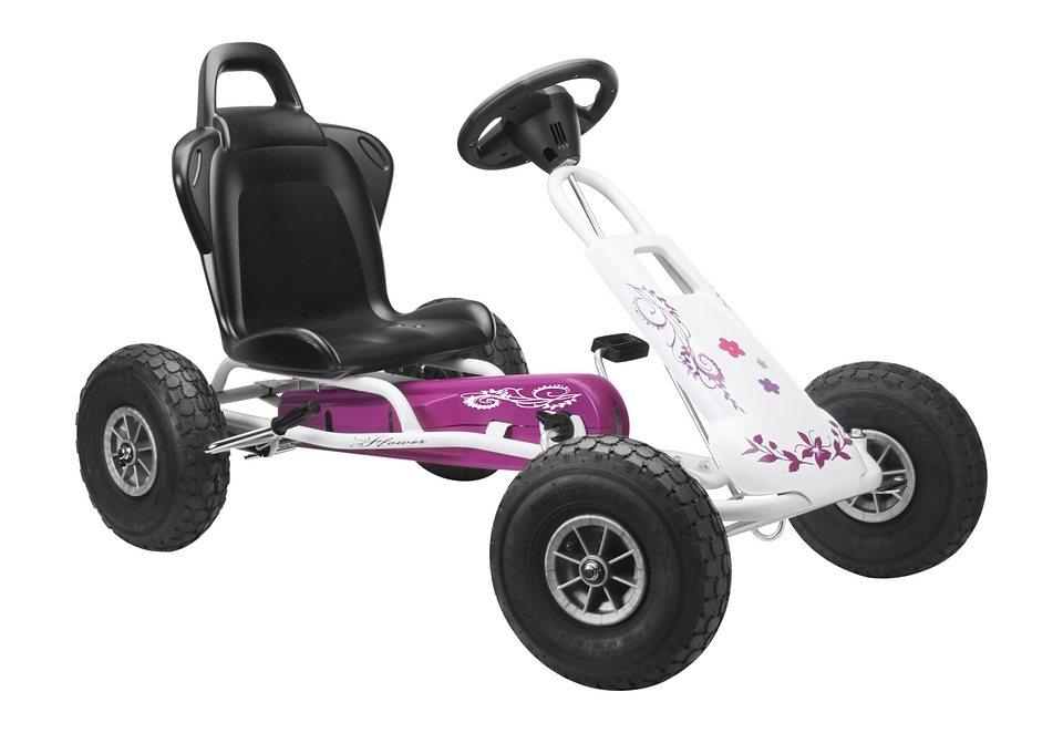 Ferbedo Go-Kart »Air Runner - weiß/pink« in pink