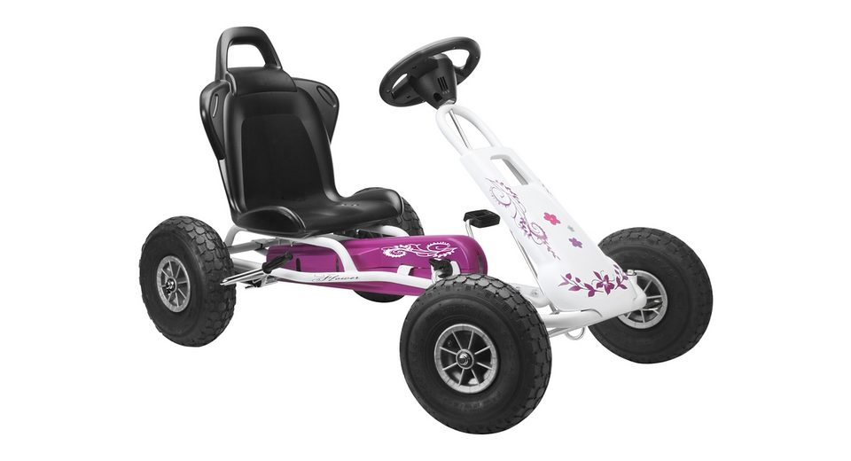 Ferbedo Go-Kart »Air Runner - weiß/pink«