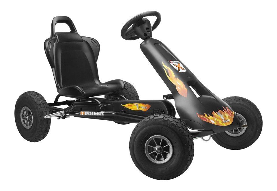 Ferbedo Go-Kart, »Air Racer AR-2 - schwarz« in schwarz