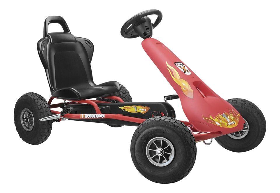 Ferbedo Go-Kart »Air Racer AR-2 - rot«