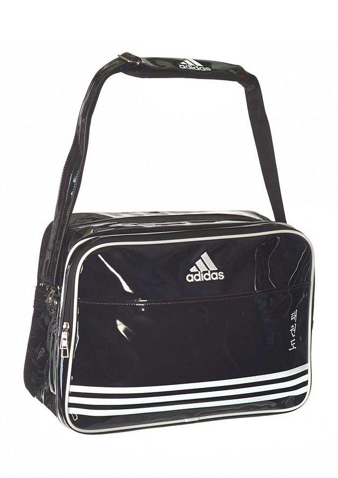 Shiny PU Sporttasche, »Taekwondo«, adidas Performance in schwarz-weiss