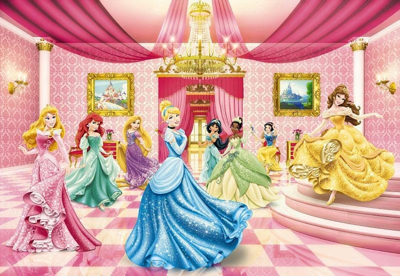 Fototapete, Komar, »Princess Ballroom«, 368/254 cm in bunt