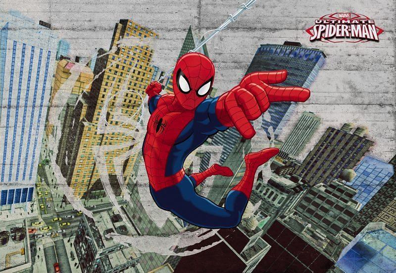Fototapete, Komar, »Spiderman Concrete«, 368/254 cm