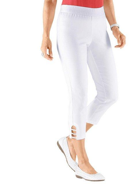 Hosen - Classic Basics Stretch Hose › weiß  - Onlineshop OTTO
