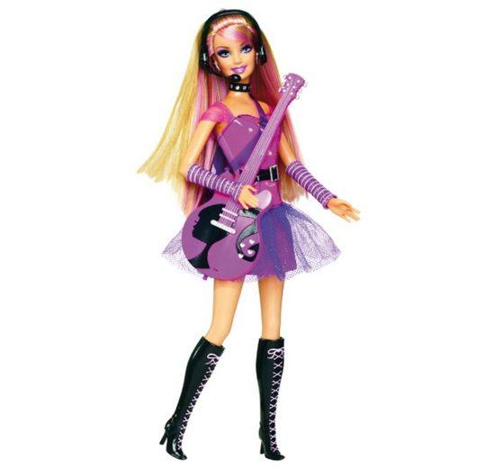 Mattel Barbie Ich wäre gern... Rockstar