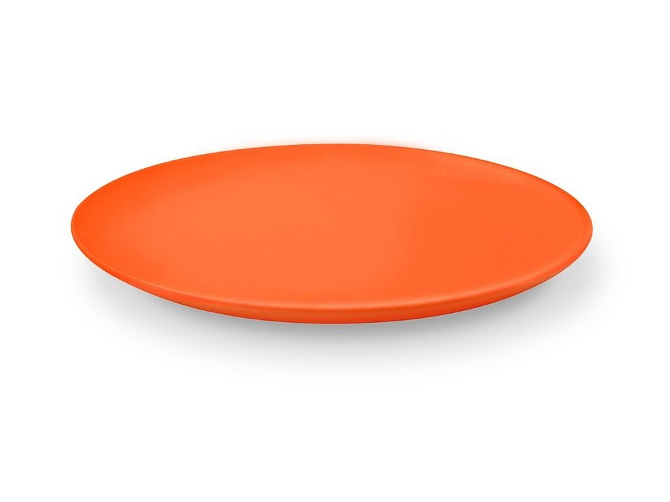 Friesland Speiseteller »Happymix, 25 cm, 4er Set« 4-tlg in orange
