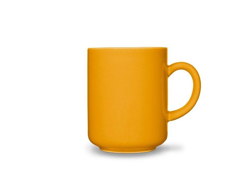Friesland Becher »Happymix, 0,4l, 4er Set« 4-tlg in gelb