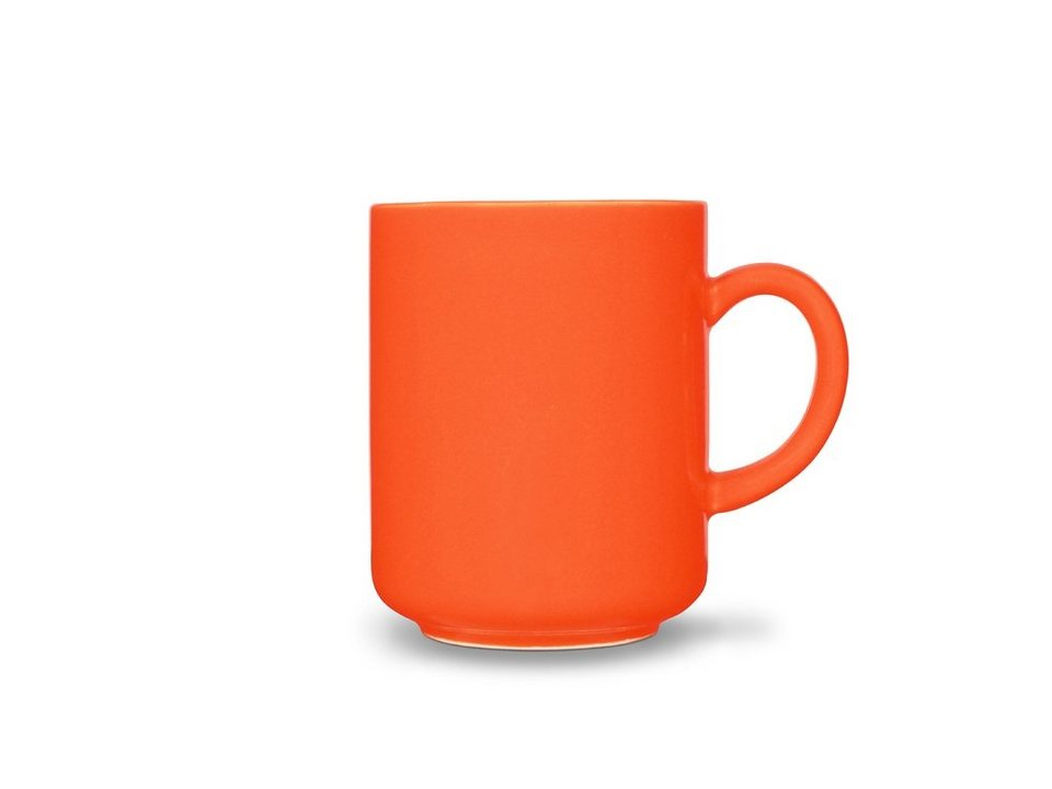 Friesland Becher »Happymix, 0,4l, 4er Set« 4-tlg in orange