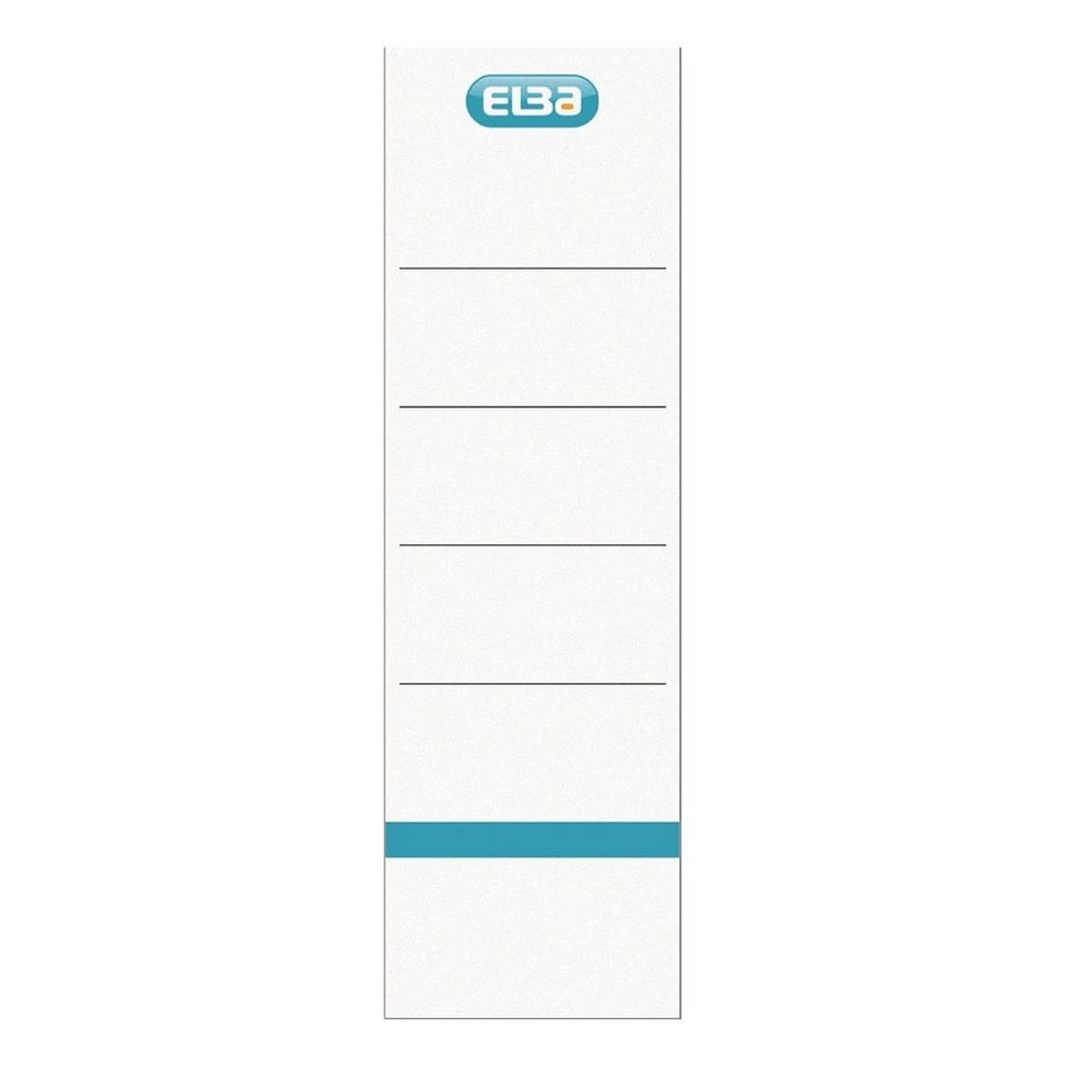 Elba Ordnerrücken-Etiketten