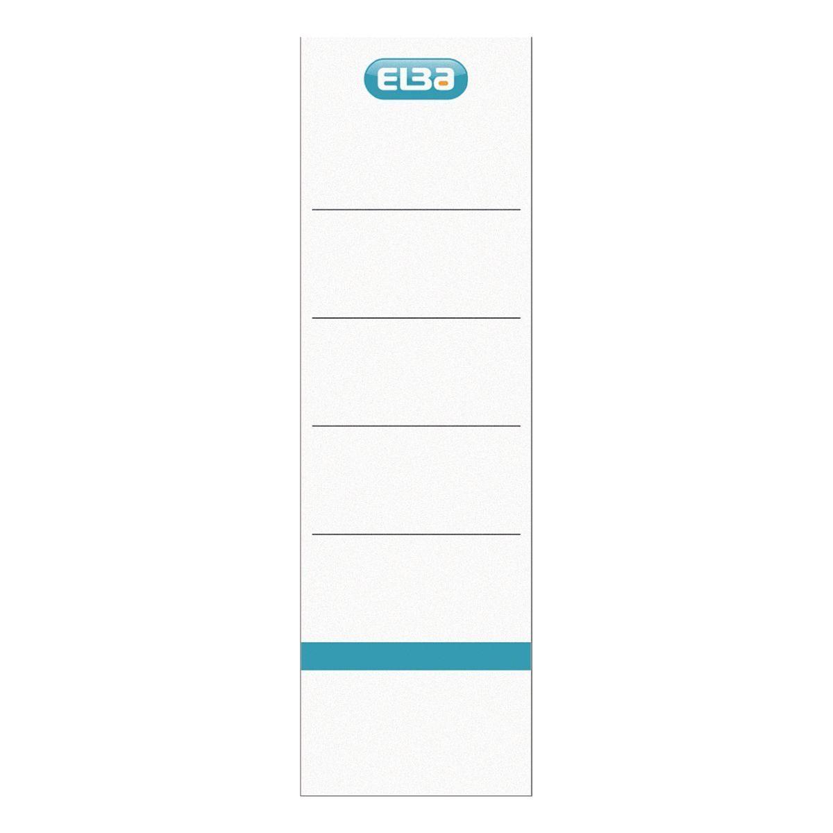 Elba Selbstklebende Ordnerrücken-Etiketten