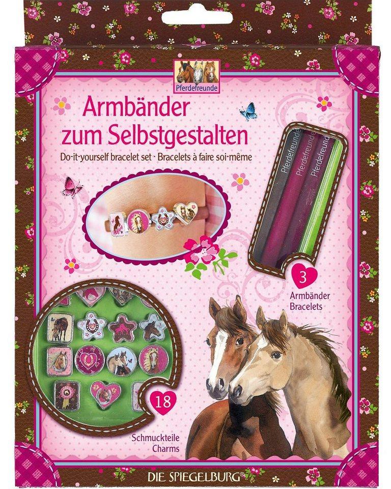 Spiegelburg Armbänder zum Selbstgestalten Pferdefreunde
