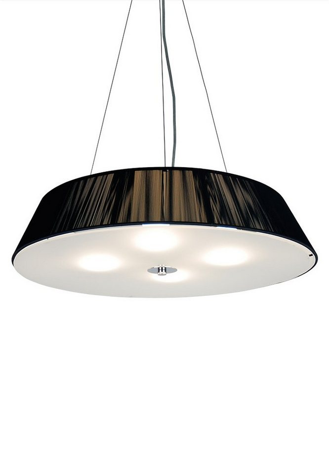 s luce h ngeleuchte stoff twine 4 flammig 60 schwarz online kaufen otto. Black Bedroom Furniture Sets. Home Design Ideas