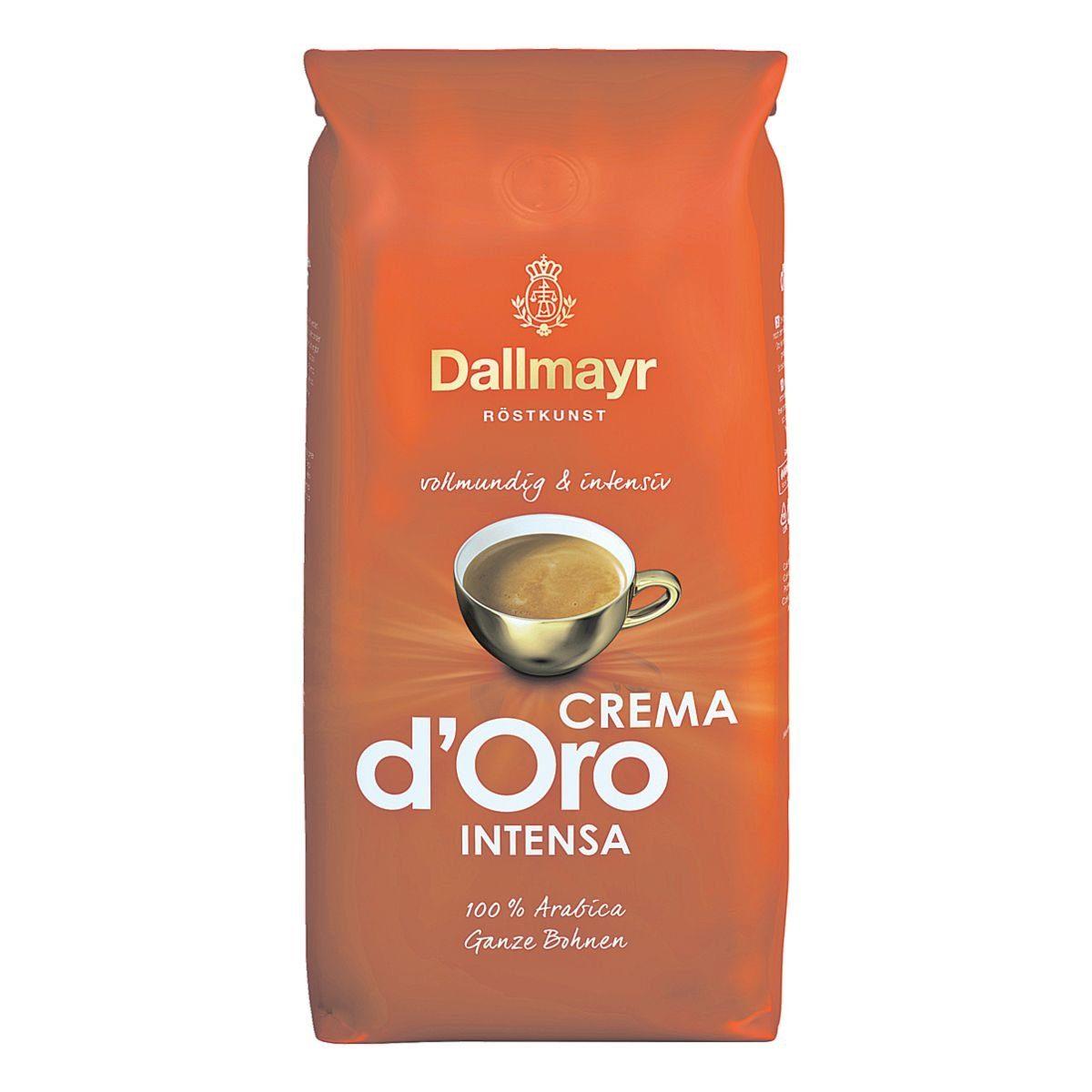 DALLMAYR Kaffee - ganze Bohnen »Crema d'Oro Intensa«
