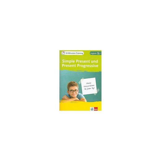 Klett Verlag 10-Minuten-Training Simple Present und Present Progressive