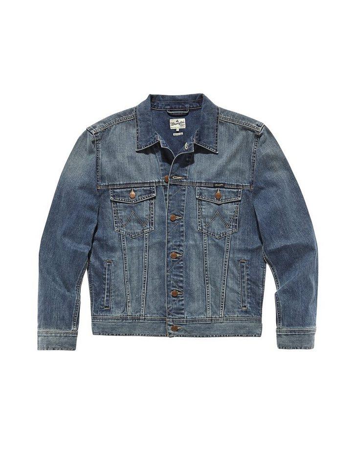 Wrangler Jacken »Western Denim Jacket« in Mid Stone