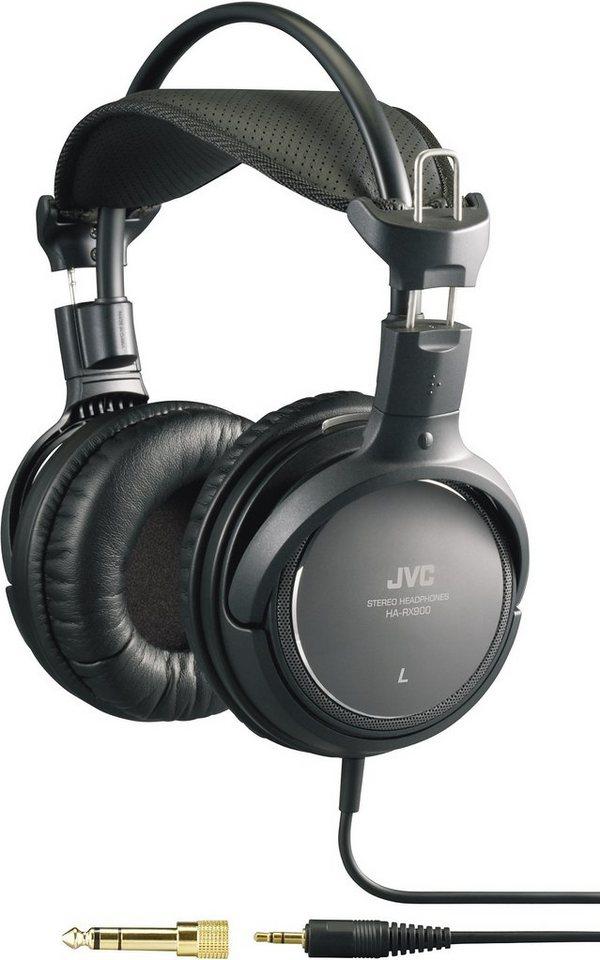 JVC Over Ear Kopfhörer »HA-RX900-E schwarz«