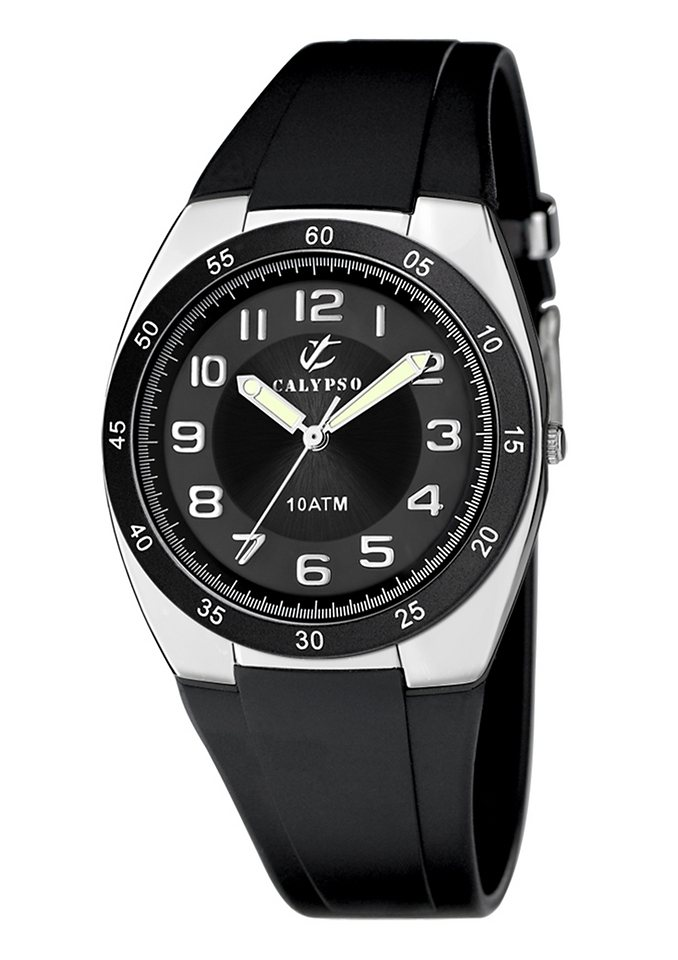 "CALYPSO WATCHES, Armbanduhr, ""K6044/b"" in schwarz"