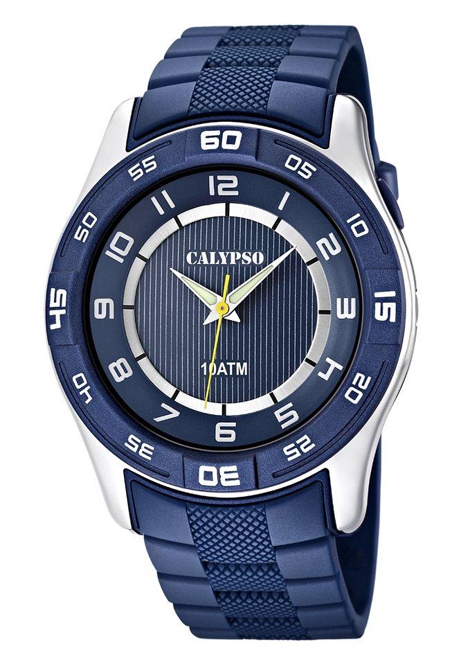 "CALYPSO WATCHES, Armbanduhr, ""K6062/2"" in blau"