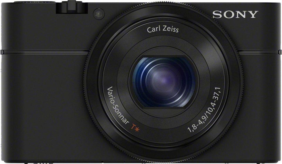 Sony Cyber-Shot DSC-RX100 Kompakt Kamera, 20,2 Megapixel, 3,6x opt. Zoom, 7,5 cm (3 Zoll) Display in schwarz