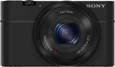 Sony »Cyber-Shot DSC-RX100M1« Kompaktkamera (Vario-Sonnar T*-Objektiv 10,4-37,1 mm, 20,2 MP, 3,6x opt. Zoom, Schwenkpanorama-Aufnahmen mit bis zu 360 Grad)