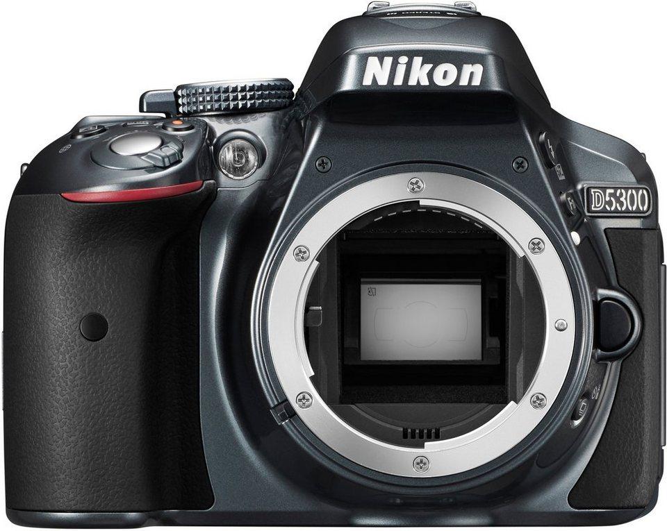 nikon d5300 body spiegelreflex kamera 24 2 megapixel 8 1. Black Bedroom Furniture Sets. Home Design Ideas
