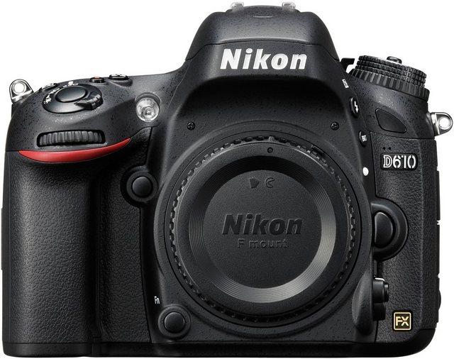 Spiegelreflexkameras - Nikon D610 Body Spiegelreflex Kamera, 24,3 Megapixel, 8 cm (3,2 Zoll) Display  - Onlineshop OTTO