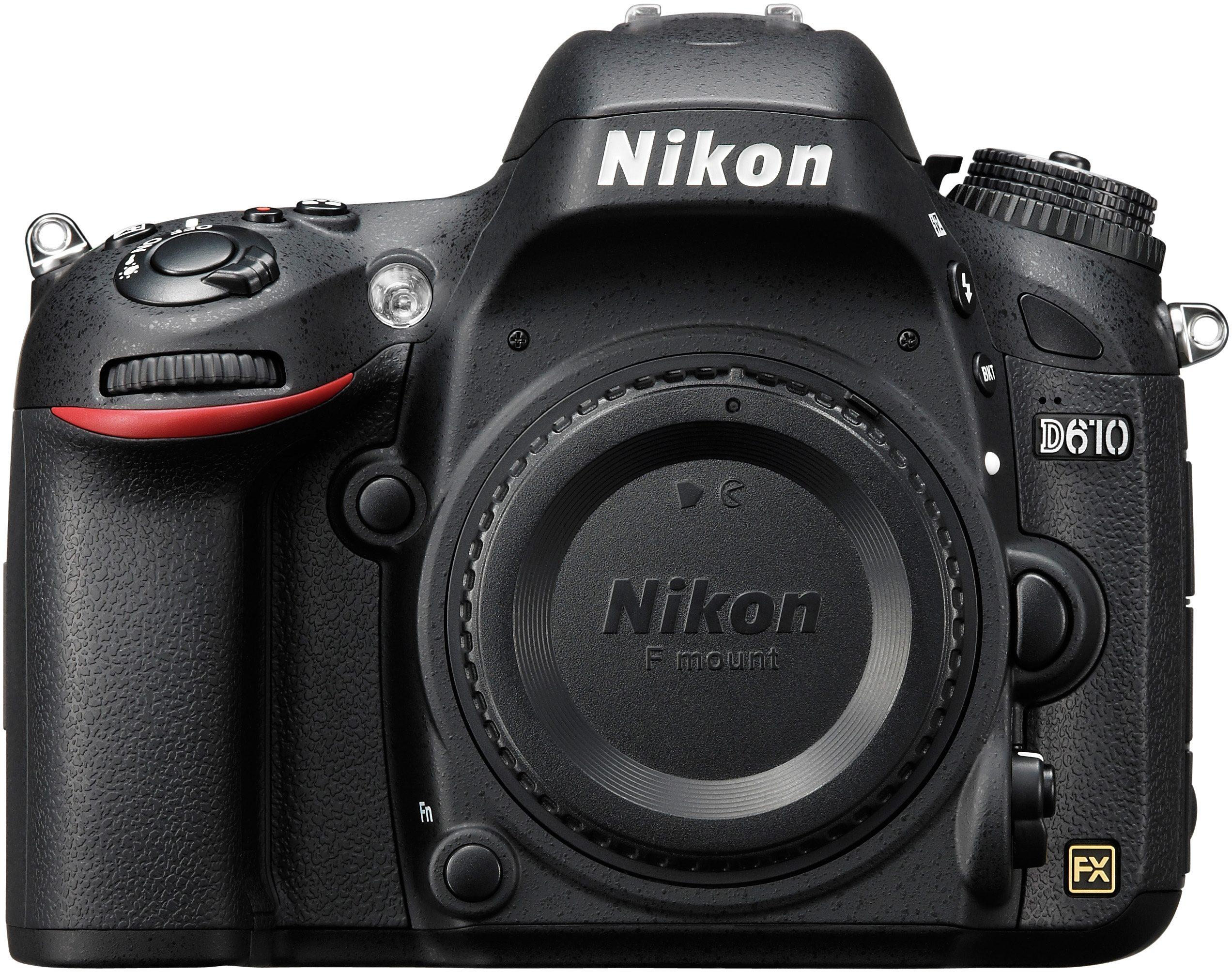 Nikon D610 Body Spiegelreflex Kamera, 24,3 Megapixel, 8 cm (3,2 Zoll) Display